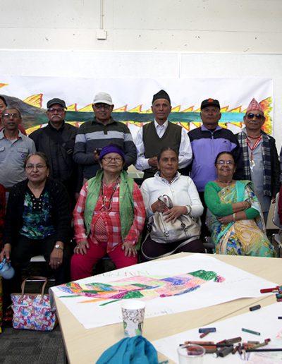 Art Activity Participants